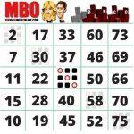 El bingo de 75 bolas