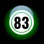 El número 83: apodo, significado y curiosidades