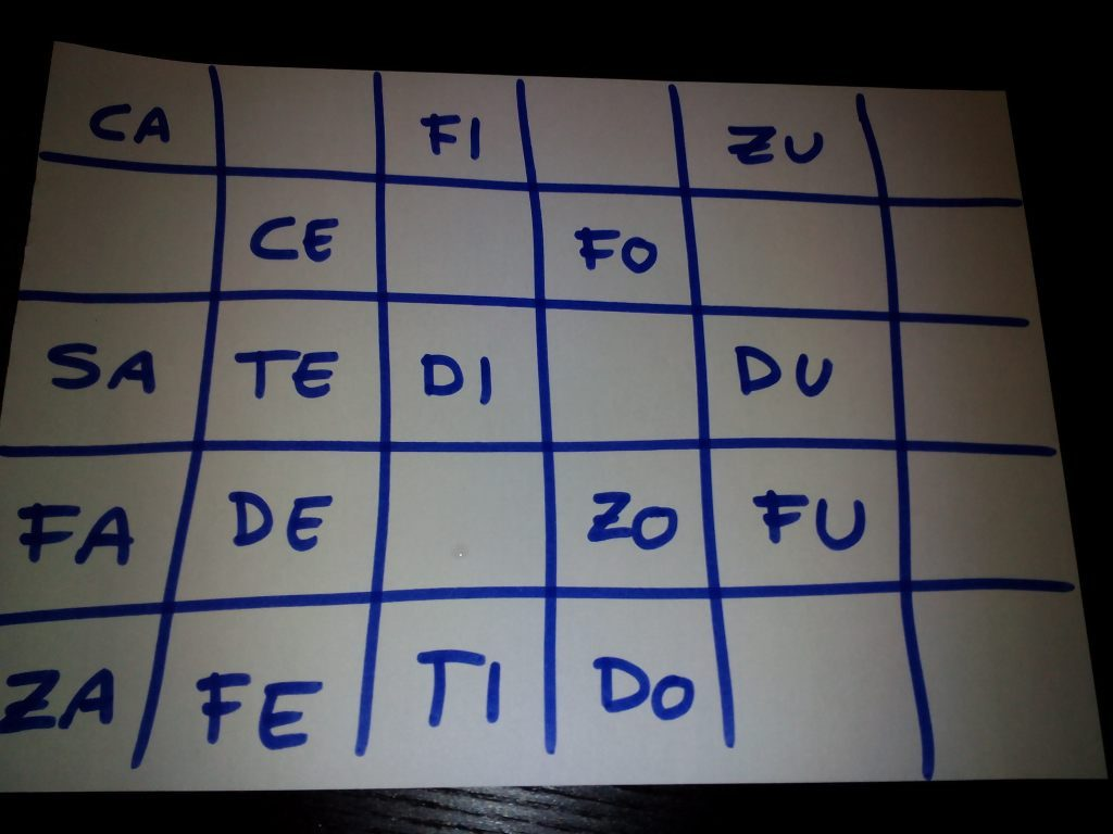 bingo auditivo