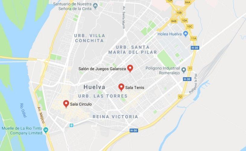 Bingos en Huelva